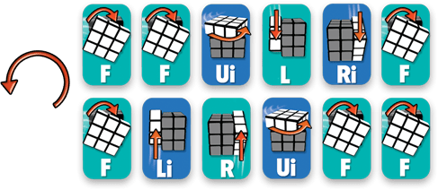 5-Step to Solve A 3×3 Rubik's Cube | KC's Blog