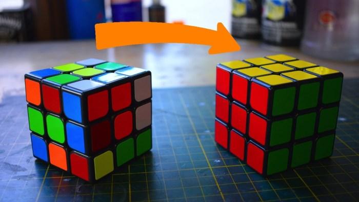 Solving Rubiks Cube - 5-Step to Solve A 3x3 Rubik's Cube