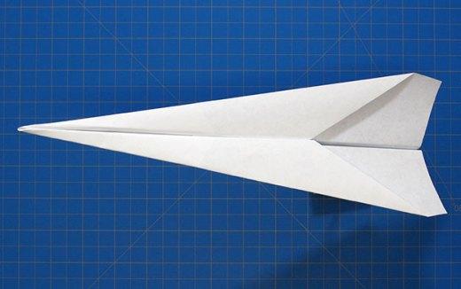 basic dart paper plane - Paper Airplane