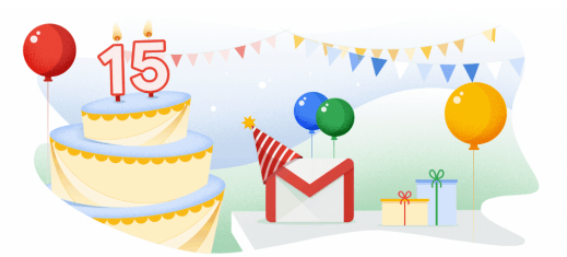 image - Happy 15th Birthday, Gmail