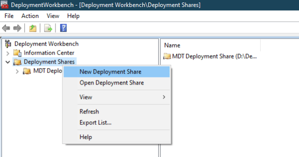 image 1 - Basic Steps to Build A Microsoft Deployment Toolkit MDT System