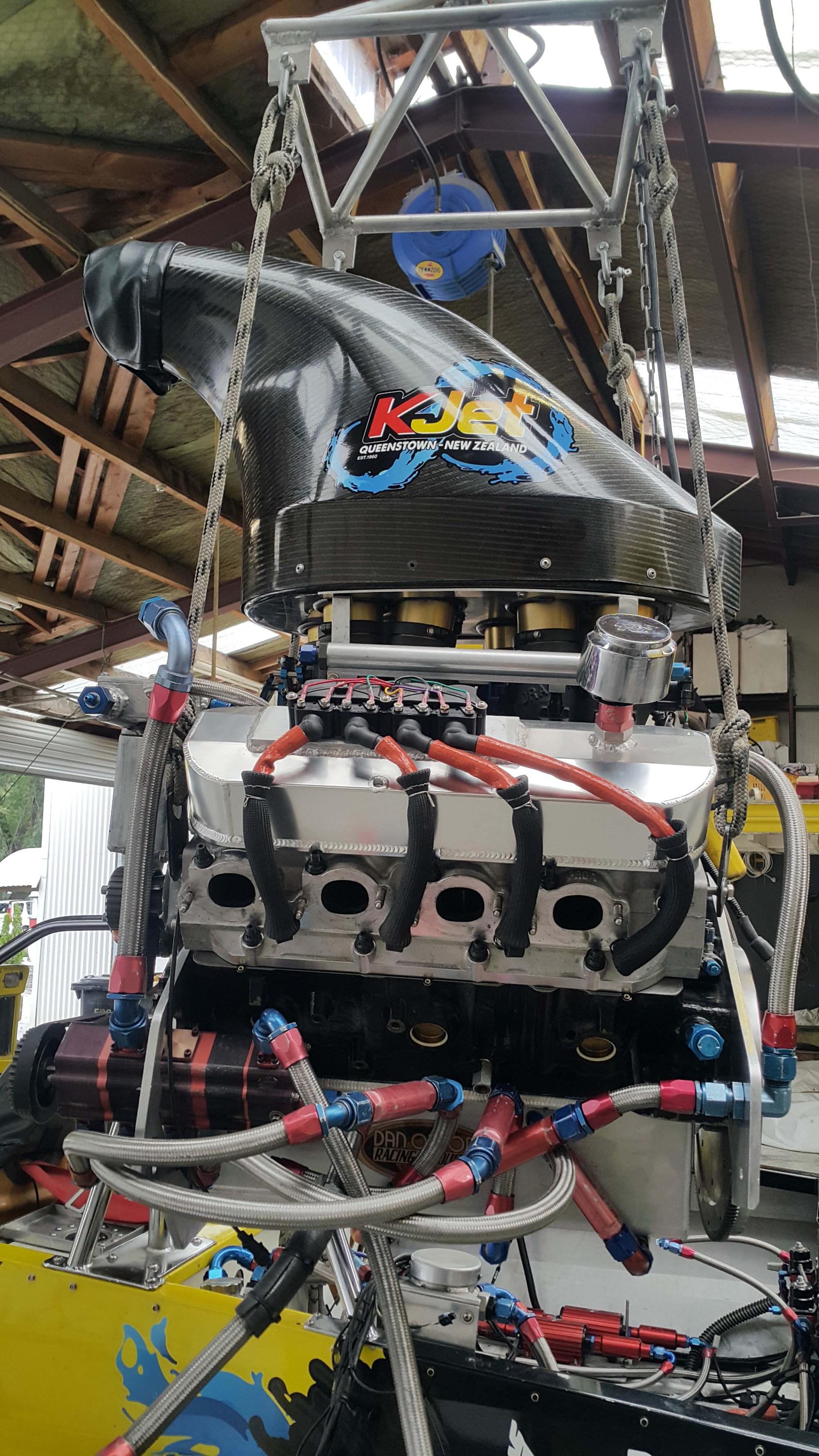 hight resolution of kjet boat engine