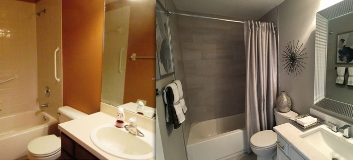 Before & After Bathroom Interior design