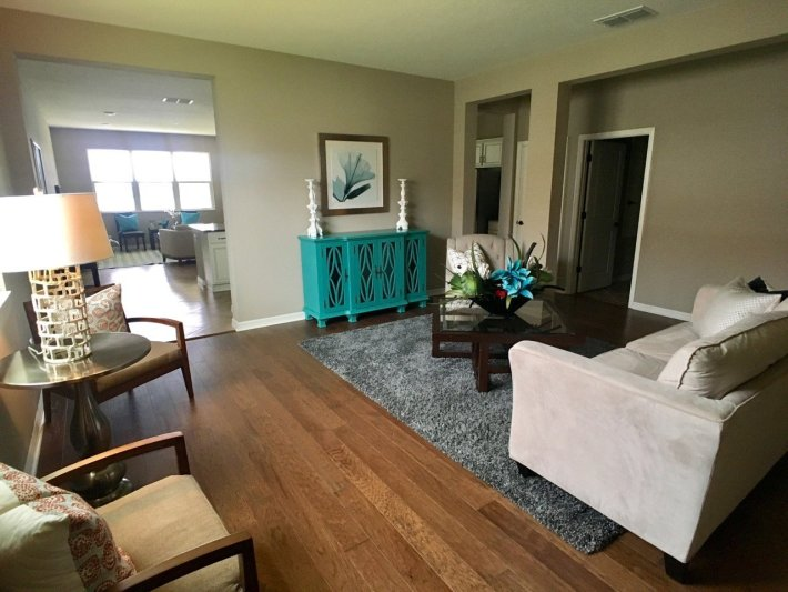 Home Staging Formal Living Area