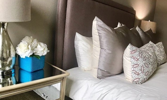 Home Staging Bedroom Closeup