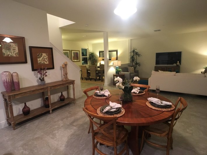Home Staging Open Living Area