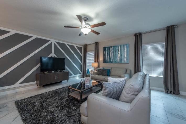 Plush Living Room Design