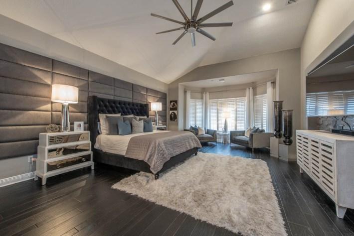 Transitional Master Bedroom Interior Design