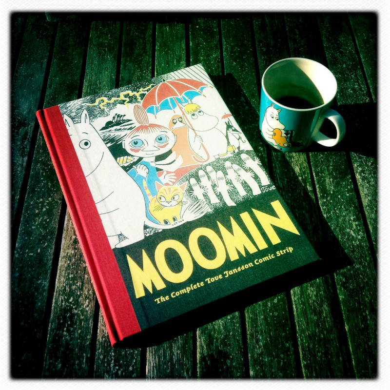 Moomin complet, carte si cafea