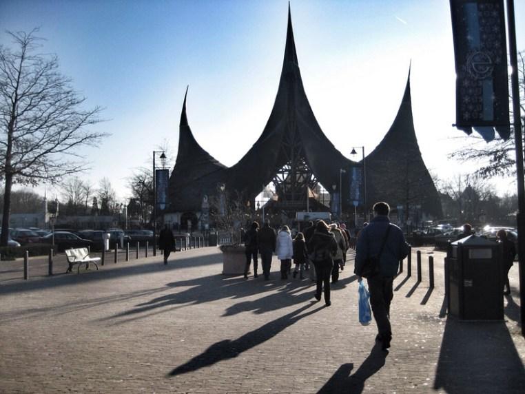 Efteling - intrarea in parc