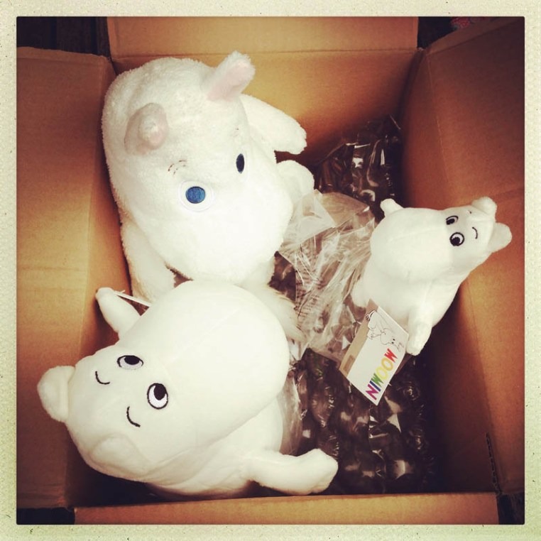 Moomin chat in the box