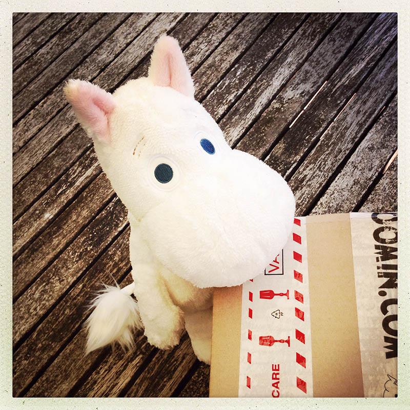 pachet de la Moomin pentru Moomin