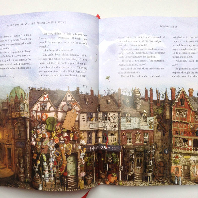 Harry Potter illustrated - Diagon Alley