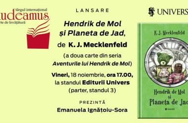 Lansare oficială Hendrik de Mol și Planeta de Jad