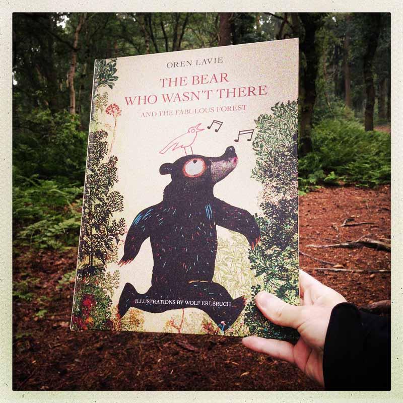 La pădure cu ursul care nu era acolo