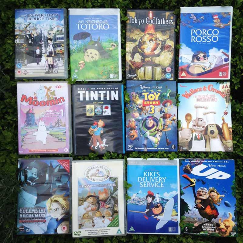 100 de filme de animație pentru copii