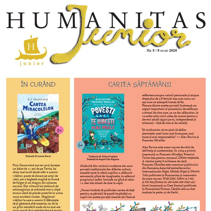 Interviu pentru revista Humanitas Junior