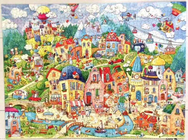 HappyTown - Rita Berman - Heye Puzzle - 1500 piese
