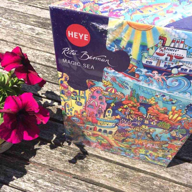 MagicSea - Rita Berman - Heye puzzle - 1000 piese