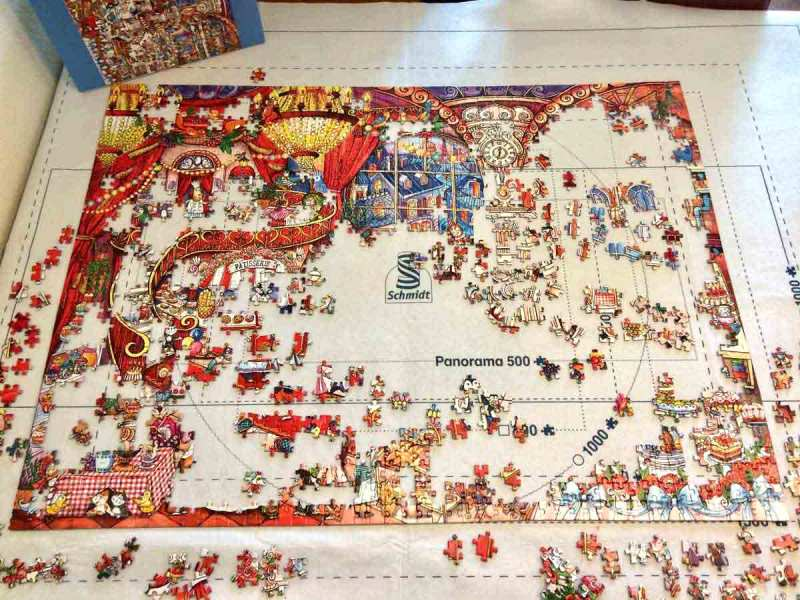 Pattiserie - Rita Berman - Heye puzzle - 1500 piese