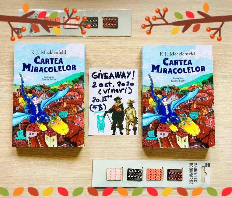 """Giveaway """"Cartea Miracolelor"""""""