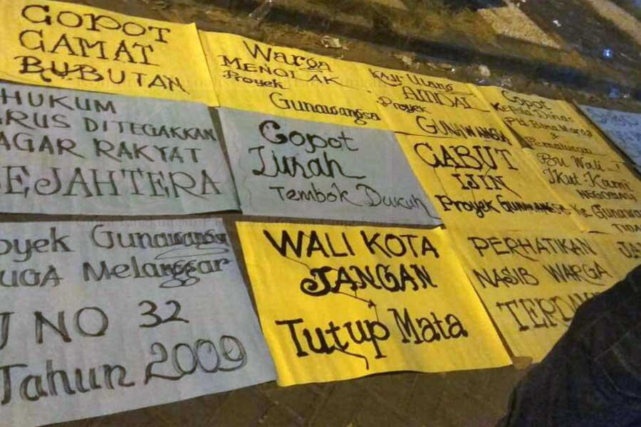 KJPL Temukan Bukti Pelanggaran Apartemen Gunawangsa Tidar