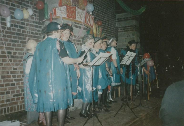 Alte Zeiten -Erste Weiberfasching 1997