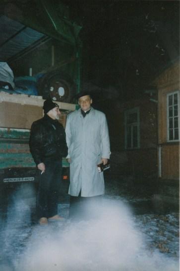 Alte Zeiten -Hilfsgütertransport nach Minsk 1996 (1)