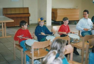 Alte Zeiten -KJV FAhrt 1993 Rhön Sargenroth (1)