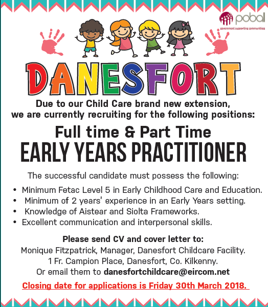 Danesfort Childcare  Kilkenny County Childcare Committee