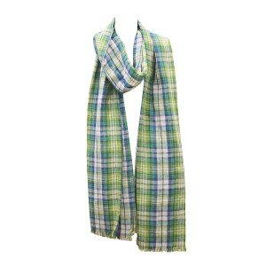 Cotton Check Scarves Manufacturers