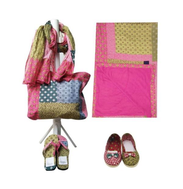 Set Of Bags, Scarves, Flip Flops. manufacturersSet Of Bags, Scarves, Flip Flops. manufacturers