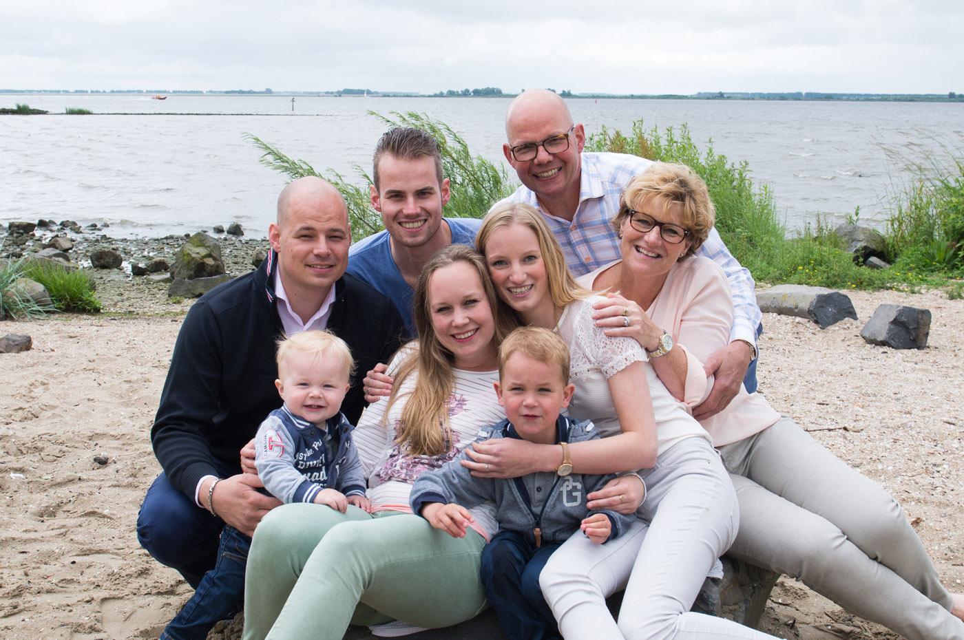 groepsfotografie, familiereportage Hellevoetsluis