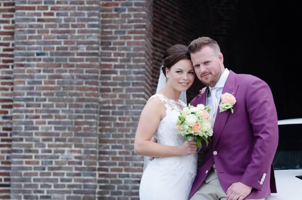 bruidsfoto in Brielle