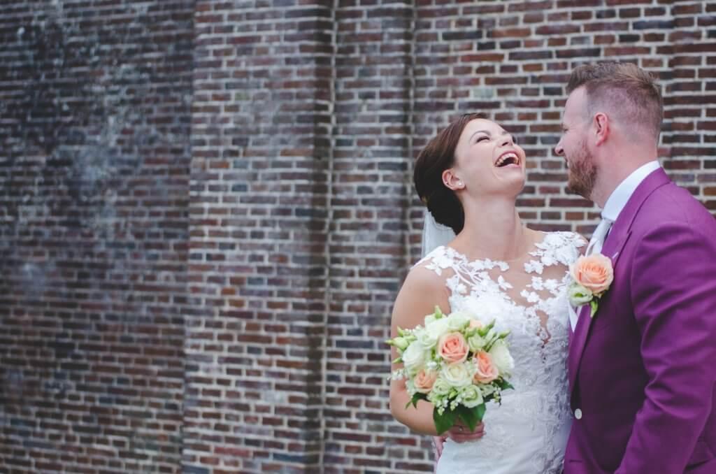bruidsfoto poort Brielle