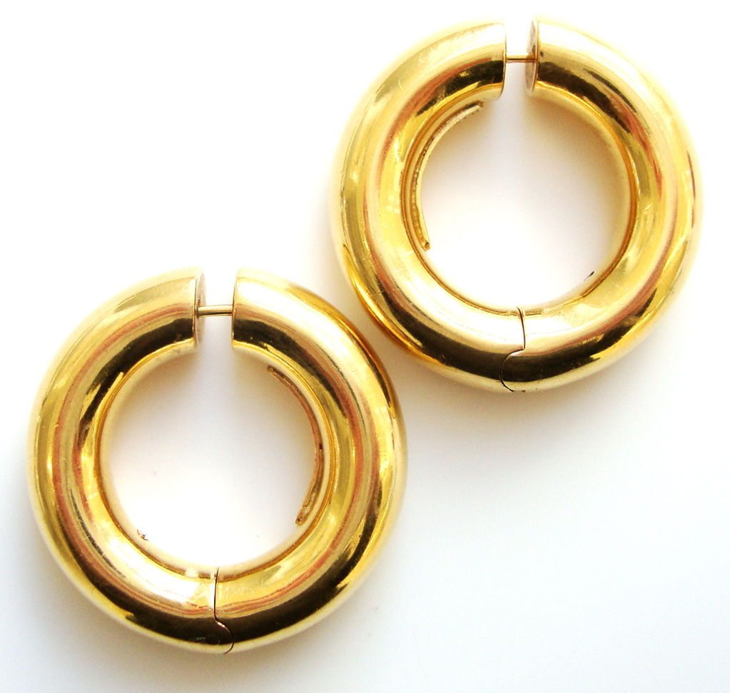 Italian 18k Gold Earrings Italian 18k Gold Jewelry