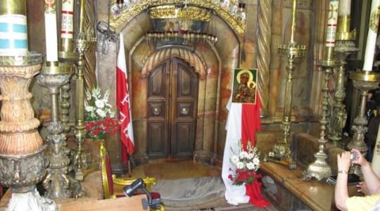 Msza święta w intencji Polski  w Jerozolimie. Zawsze 3 maja od 174 lat!
