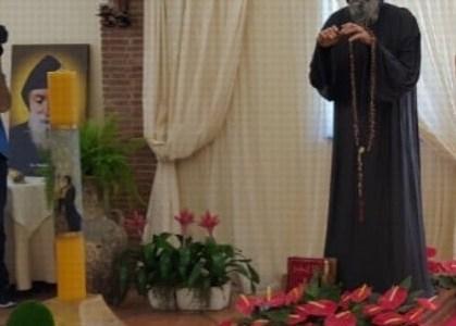 Peregrynacja figury świętego Charbela w Europie i w Polsce
