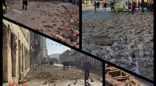 Nasi przyjaciele z Chorwacji cierpią kolejny raz z powodu trzęsienia ziemi
