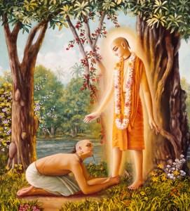 Lord Caitanya and Sanatana Goswami