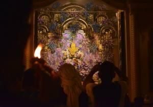 lamp offering_vrindavan