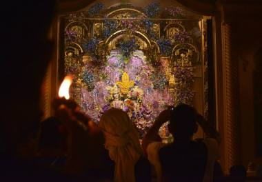 lamp offering_vrindavan