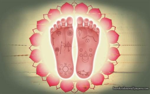 lotus feet nitya nanda
