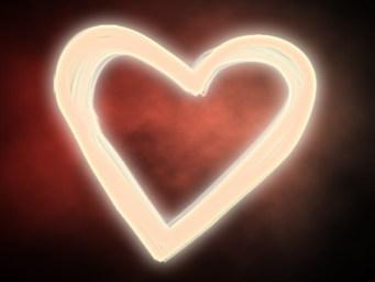 glowing heart3