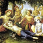 Lord Balarama – carrier of the plough
