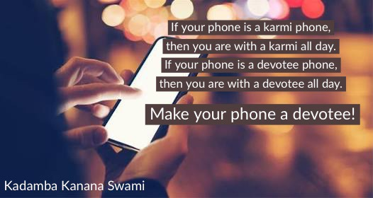 Is your phone a devotee?