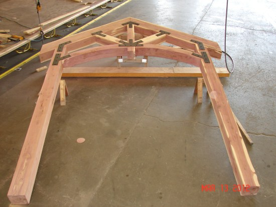 Cedar truss