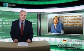 Schulterschluss von Politik & Medien zum Freihandelsabkommen TTIP