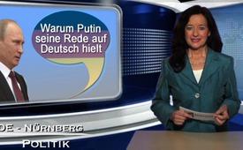Warum Putin seine Rede auf Deutsch hielt