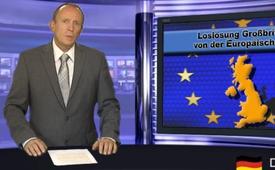 Loslösung Großbritanniens von der Europäischen Union?